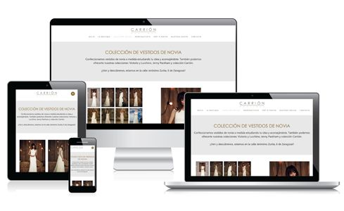 Web de Boutique Carrión